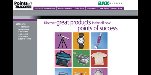 BAX Global-Points of Success