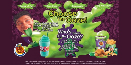 Burger King-Choose the Ooze