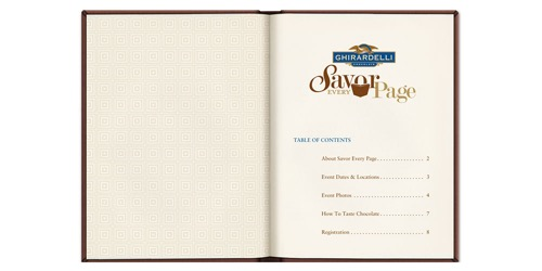 Ghirardelli-Savor Every Page