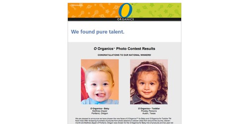 Safeway-Oh Baby Photo Contest