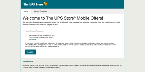 The UPS Store-Mobile Offers