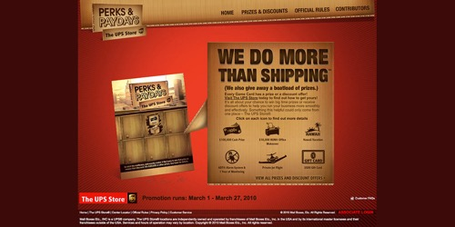The UPS Store-Perks & Paydays